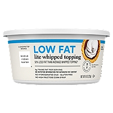 Wholesome Pantry Whipped Topping Low Fat Lite, 8 Ounce