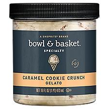 Bowl & Basket Specialty Caramel Cookie Crunch Gelato, 16 Fluid ounce