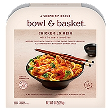 Bowl & Basket Chicken Lo Mein with Lo Mein Noodles, 9 Ounce
