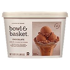 Bowl & Basket Ice Cream Chocolate Rich & Creamy, 1.5 Quart