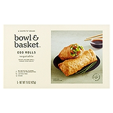 Bowl & Basket Egg Rolls, Vegetable, 15 Ounce
