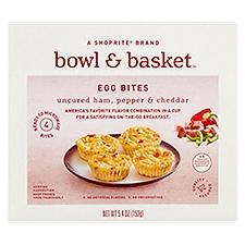 Bowl & Basket Egg Bites Uncured Ham Pepper & Cheddar, 4 Each