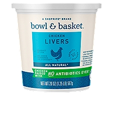 Bowl & Basket Chicken Livers, 20 Ounce