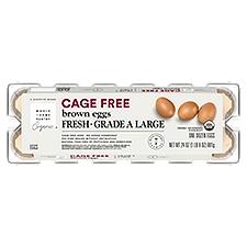 Wholesome Pantry Organic 1 Dozen Large Brown Eggs, 12 Each