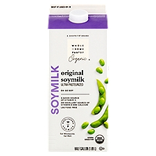 Wholesome Pantry Organic Original Soy Milk, 64 Fluid ounce