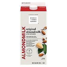 Wholesome Pantry Organic Original Almond Milk, 64 Fluid ounce