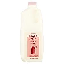 Bowl & Basket Whole Milk, 0.5 Gallon
