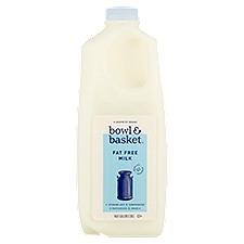 Bowl & Basket Milk Fat Free, 0.5 Gallon