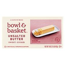 Bowl & Basket Butter Sweet Cream Unsalted, 16 Ounce