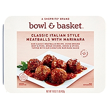 Bowl & Basket Meatball with Marinara Sauce, 16 Ounce