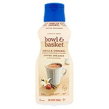 Bowl & Basket Coffee Creamer Vanilla Caramel, 1 Quart