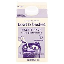 Bowl & Basket Half & Half, 1 Each