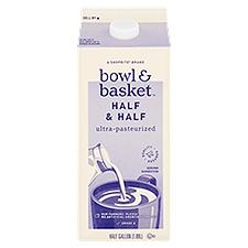 Bowl & Basket Half & Half, 0.5 Gallon