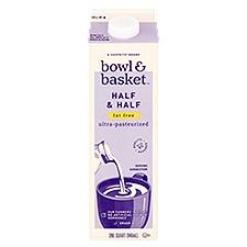 Bowl & Basket Half & Half Fat Free, 1 Quart