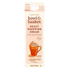 Bowl & Basket Cream Heavy Whipping, 1 Quart
