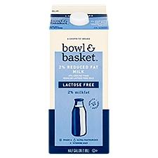 Bowl & Basket Milk Lactose Free 2% Reduced Fat, 0.5 Gallon