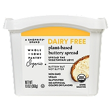Wholesome Pantry Buttery Spread Dairy Free Plant-Based, 13 Ounce