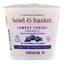 Bowl & Basket Lowfat Yogurt Fruit on the Bottom Blueberry, 6 Ounce