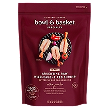 Bowl & Basket Specialty Red Shrimp Argentine Raw Extra Jumbo, 32 Ounce