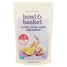 Bowl & Basket Raw Shrimp Ez-Peel Extra Jumbo, 32 Ounce