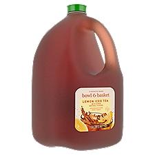 Bowl & Basket Iced Tea Lemon Sweetened with Cane Sugar, 1 Gallon