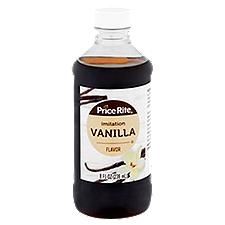 Price Rite Extract Imitation Vanilla Flavor, 8 Fluid ounce