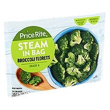 PriceRite Steam in Bag Broccoli Florets, 12 Ounce