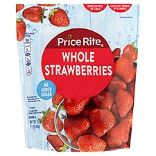 Price Rite Strawberries, Whole, 16 Ounce