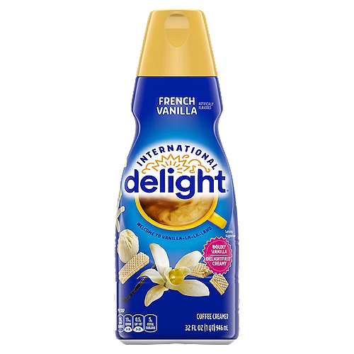 A rich creamy dream of sweet and mellow french vanilla flavor.