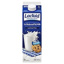 LACTAID Milk - Reduced Fat, 31.98 Fluid ounce