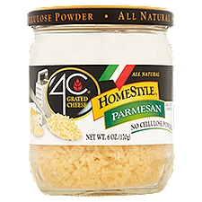 4C Home Style - Grated Cheese, 6 Ounce