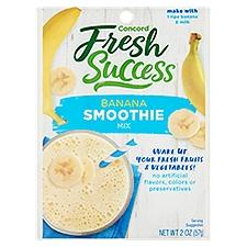 Concord Foods Banana Shake Mix, 2 Ounce