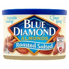 Blue Diamond Almonds Almonds - Roasted Salted, 6 Ounce