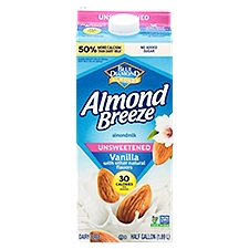 Blue Diamond Almonds Unsweetened Vanilla Almond Milk, 1.89 Each
