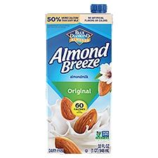 Blue Diamond Almond Breeze Original Almond Milk, 32 Fluid ounce