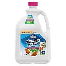 Blue Diamond Almonds Unsweetened Original Almond Milk, 96 Fluid ounce
