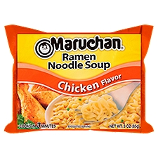 Maruchan Soup - Ramen Noodle Chicken Flavor, 3 Ounce