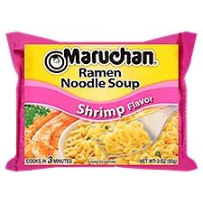 Maruchan Soup - Ramen Noodle Shrimp Flavor, 3 Ounce