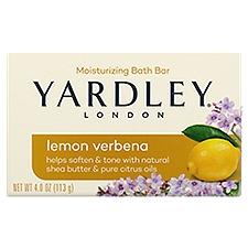 Yardley Naturally Moisturizing Bar, 4.25 Ounce
