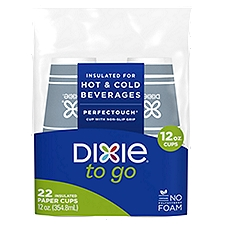 Dixie To Go Cups, 22 Each