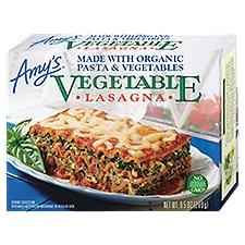 Amy's Lasagna - Organic Vegetable, 9.5 Ounce