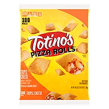 Totino's Pizza Rolls - Triple Cheese, 48.8 Ounce