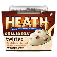 Heath Colliders Refrigerated Dessert, Twisted, 7 Ounce