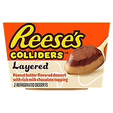 Reese's Colliders Refrigerated Dessert, Layered REESE'S , 7 Ounce