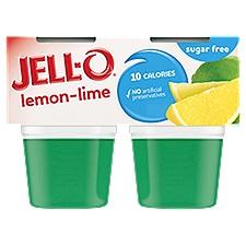 Jell-O Sugar Free Lemon-Lime Gelatin Snacks, 12.5 Ounce