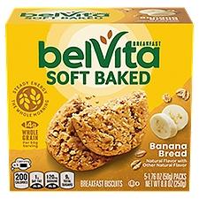 Belvita Soft Baked Breakfast Biscuits - Banana Bread, 8.8 Ounce