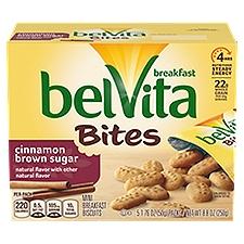 Belvita Bites Cinnamon Brown Sugar Mini Breakfast Biscuits, 8.8 Ounce