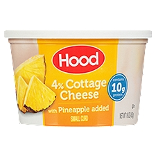 Hood Cottage Cheese with Pineapple, 16 Ounce