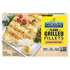 Gorton's Lemon Butter Grilled Fish Fillets, 201 Gram