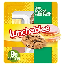 Oscar Mayer Lunchables Bologna & American With Chips Ahoy Cookie, 87 Gram